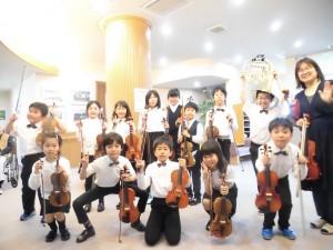ジュニアオーケストラ 子供達